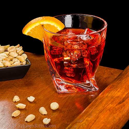 The Mezcal Negroni Cocktail