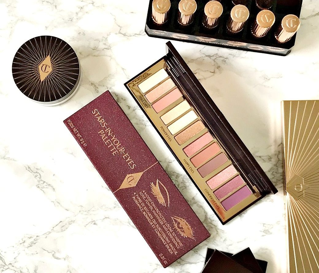 Charlotte Tilbury Stars In Your Eyes Palette Review, Charlotte Tilbury, Eyeshadow palette,