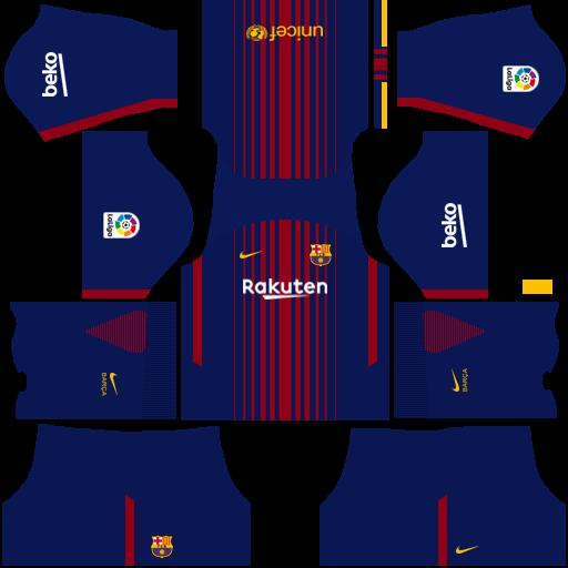 a9a4a363a Dream League Soccer Kits Barcelona 2018-19 Kit 512x512 URL ...