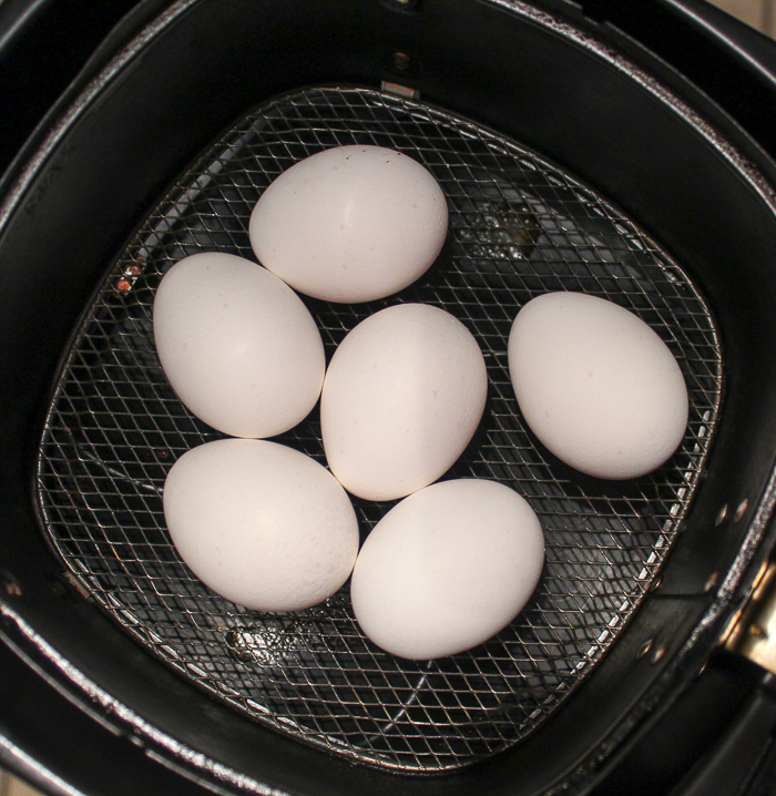 Air Fryer Hard Boiled Eggs (+ Soft Boiled!)
