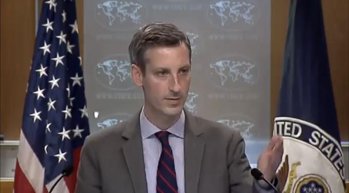 🔴 ورد الآن | الخارجية الأمريكية تؤكد دعمها لجهود بعثة الأمم المتحدة من أجل تنظيم الإستفتاء حول تقرير المصير في الصحراء الغربية