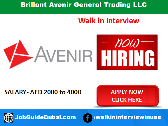Brillant Avenir General Trading LLC career for Telesales Executive jobs in Dubai UAE