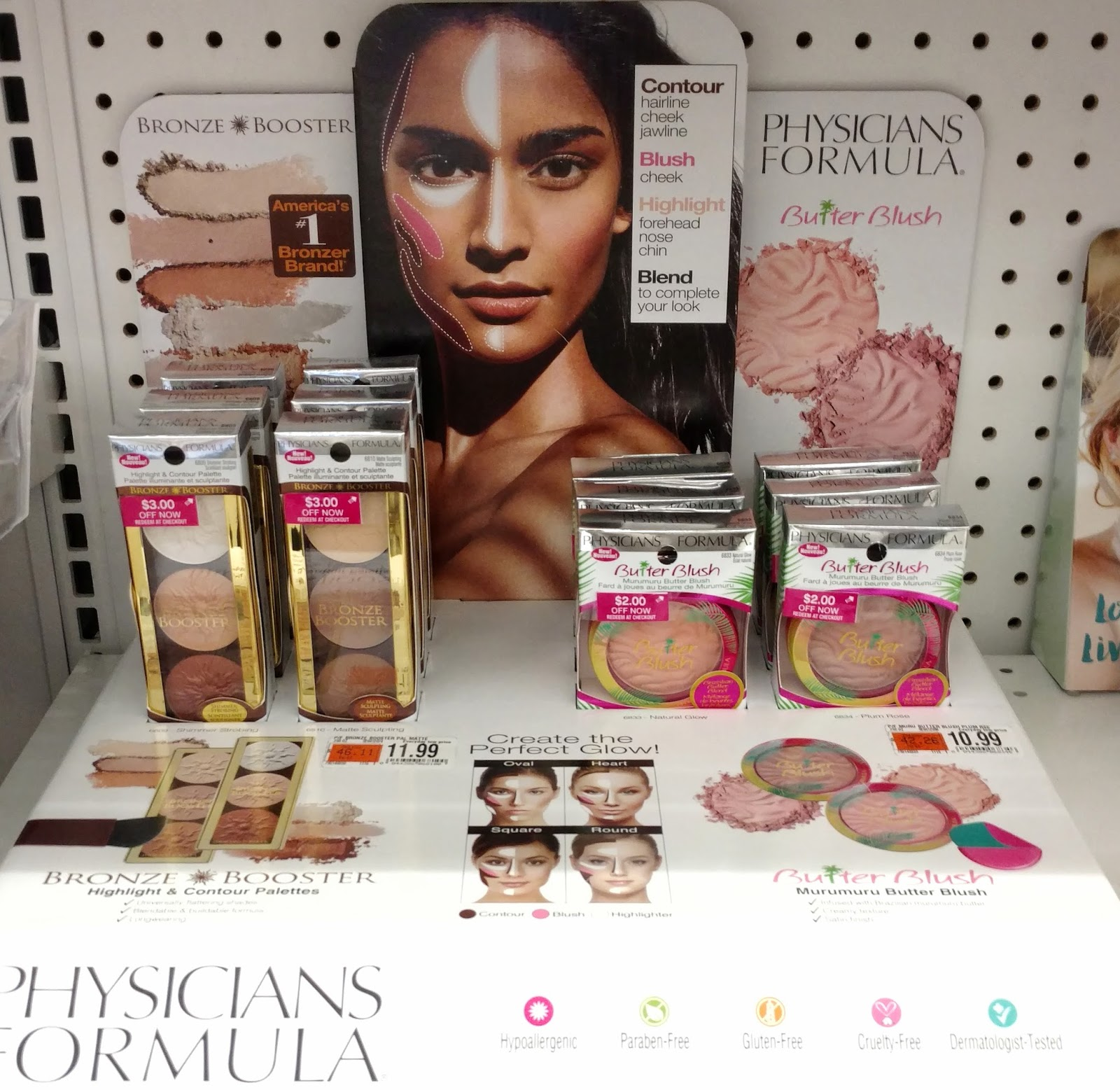 physicians formula butter blush and contour palettes