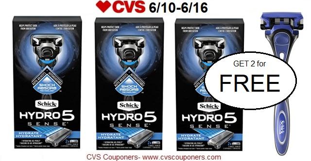 http://www.cvscouponers.com/2018/06/free-schick-hydro-5-razors-at-cvs-610.html