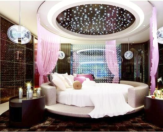 ديكور جبس غرف نوم رومانسيه للعرسان 2020 رائعه بالصور