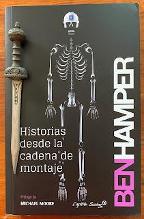 Portada del libro Historias desde la cadena de montaje, de Ben Hamper
