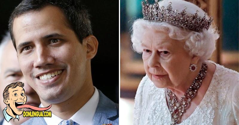 La Reina Isabel de Inglaterra se solidarizó con Guaidó | Pero seguimos igual