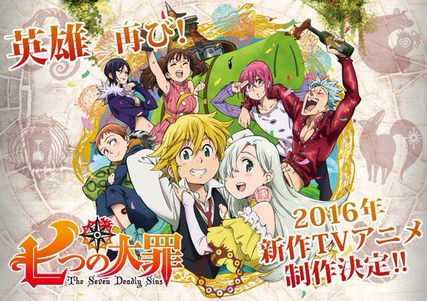Nanatsu No Taizai Season 2 Episode 1-END Subtitle Indonesia