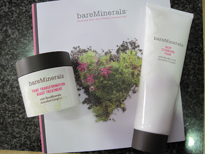 bare minerals pore transformation  night treatment