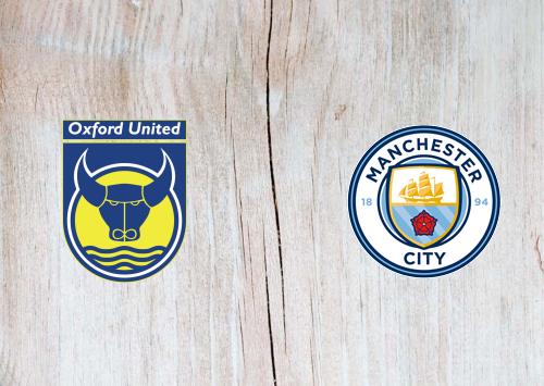 Oxford United vs Manchester City Full Match & Highlights 18 December 2019
