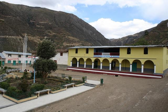 Municipalidad Distrital de Huacaña (Sucre)