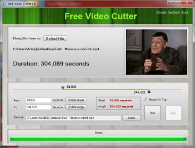 تحميل برنامج تقطيع الفيديو Free Video Cutter مجانا للكمبيوتر