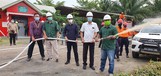 Jadi Pilot Project Perkebunan Sawit, SAM dan TBM Siap Tangani Karhutla