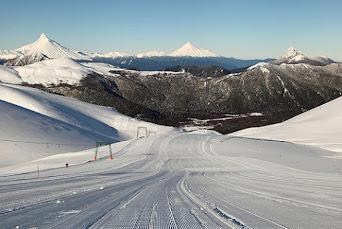 Antillanca ski center, Chile.