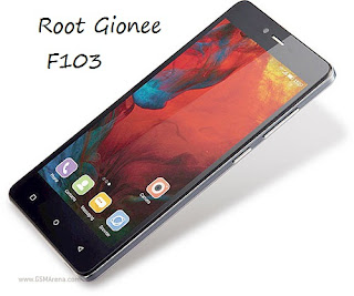How To Root Gionee F103 and Install TWRP Recovey in Marshmallow (Android 6.0).