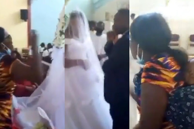Wife Catches Husband Getting Married To New Wife In Church, Even After Sleeping With Her That Morning