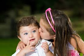 Top latest hd Baby Boy to Girl frist kiss images photos pic wallpaper free download 61