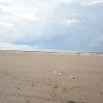 A Man and His Cycle - Kodiyakkarai - Point Calimere Beach - Tamilnadu