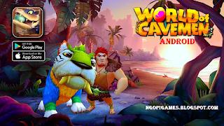 Game World of Cavemen MMORPG Apk English Android