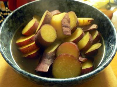 さつま芋の煮物完成