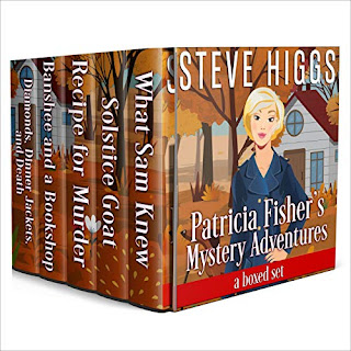 Patricia Fisher Mystery Adventures Audiobooks Boxed Set
