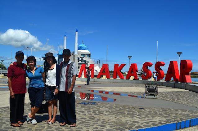 Kawasan Pantai Losari, Ikon Kota Makassar  | © jelajahsuwanto