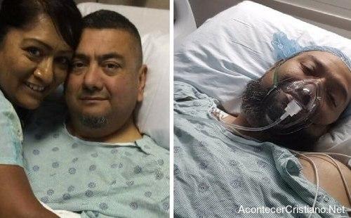 Pastor dona riñón