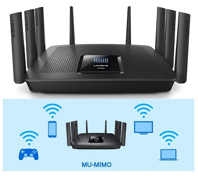 Linksys Tri-Band AC5400 Max-Stream Router