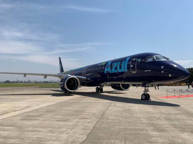Voos da Azul entre Vilhena e Cuiabá serão retomados no mês que vem; jato vai substituir turbo-hélice