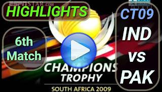 IND vs PAK 6th Match