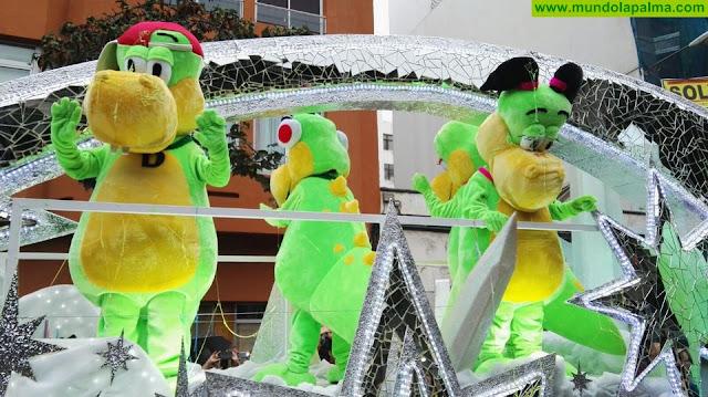 HiperDino participa un año más en las cabalgatas de los Reyes Magos