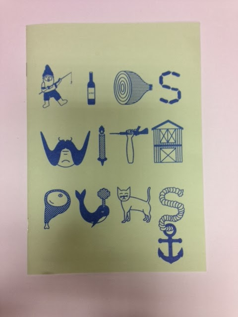 Salford Zine Library: New in: Kids With Puns #2
