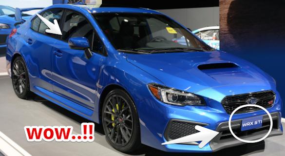 Detroit Auto Show 2017 : 2018 Subaru Impreza WRX STI