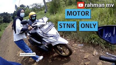 pengalaman beli motor stnk only