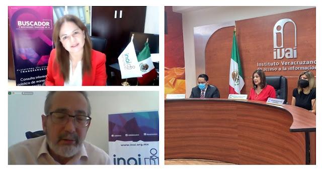 Veracruz agilizará y ahorrará tiempos a favor de la transparencia: INAI
