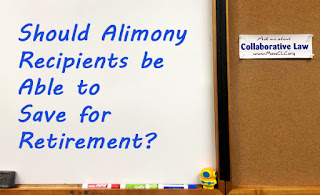 Bulletin Board - Should Alimony Recipients be Able to Save for Retirement?