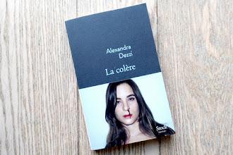 Lundi Librairie : La colère - Alexandra Dezzi