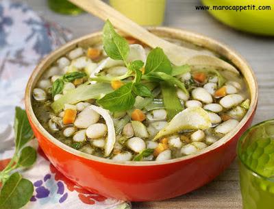 Recette de soupe au pistou | Pistou soup recipe