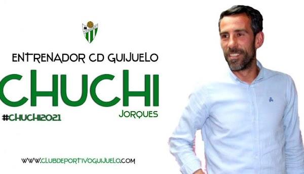 Oficial: CD Guijuelo, firma el técnico Chuchi Jorques