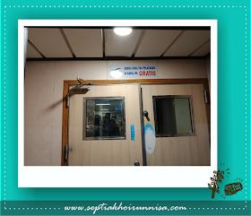 fasilitas gratis di kapal ASDP Indonesia Ferry