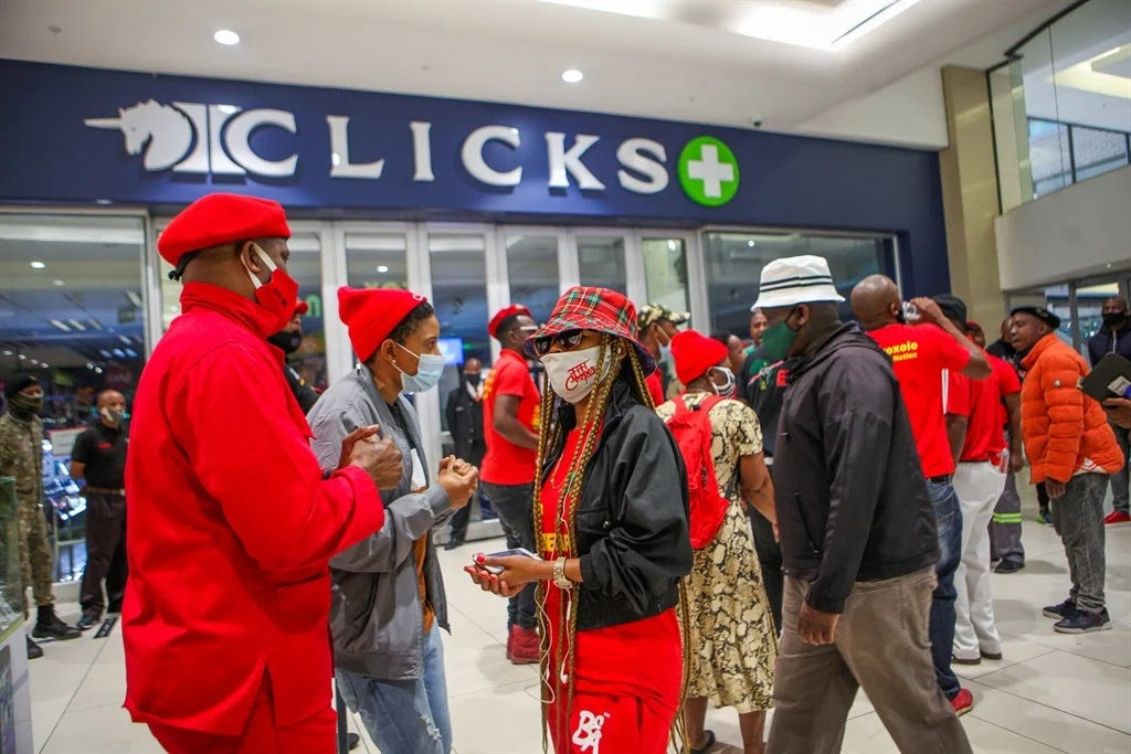 Seven Of  South African Retailer Clicks' Stores Damaged In Protests Over 'Racist' Advert