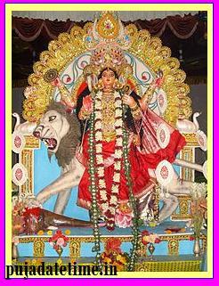 Jagadhatri Puja Date
