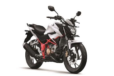 New Honda CB150R StreetFire Razor White