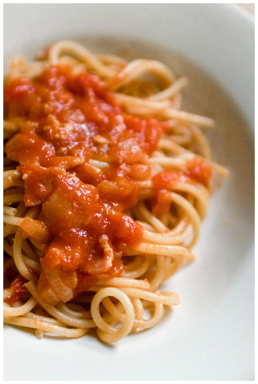 amatriciana-pasta-bucatini-italian-dinner-food blogger- nj food blogger