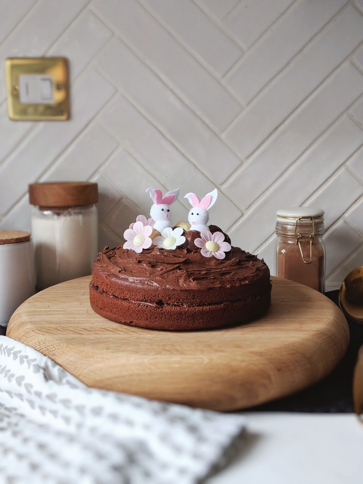 Dairy Free Chocolate Easter Cake