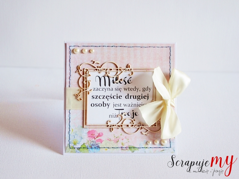 oryginalna kartka ślubna, ręcznie robiona kartka ślubna, handmade