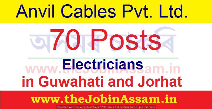 Anvil Cables Pvt. Ltd. Recruitment 2021: