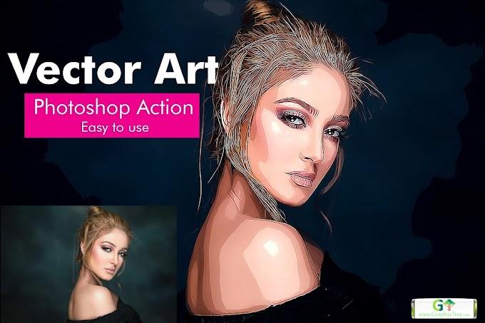 Vector Art Photoshop Action 4938279