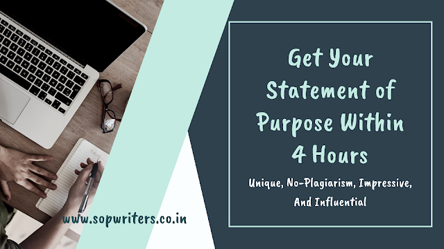Statement of Purpose Writers India