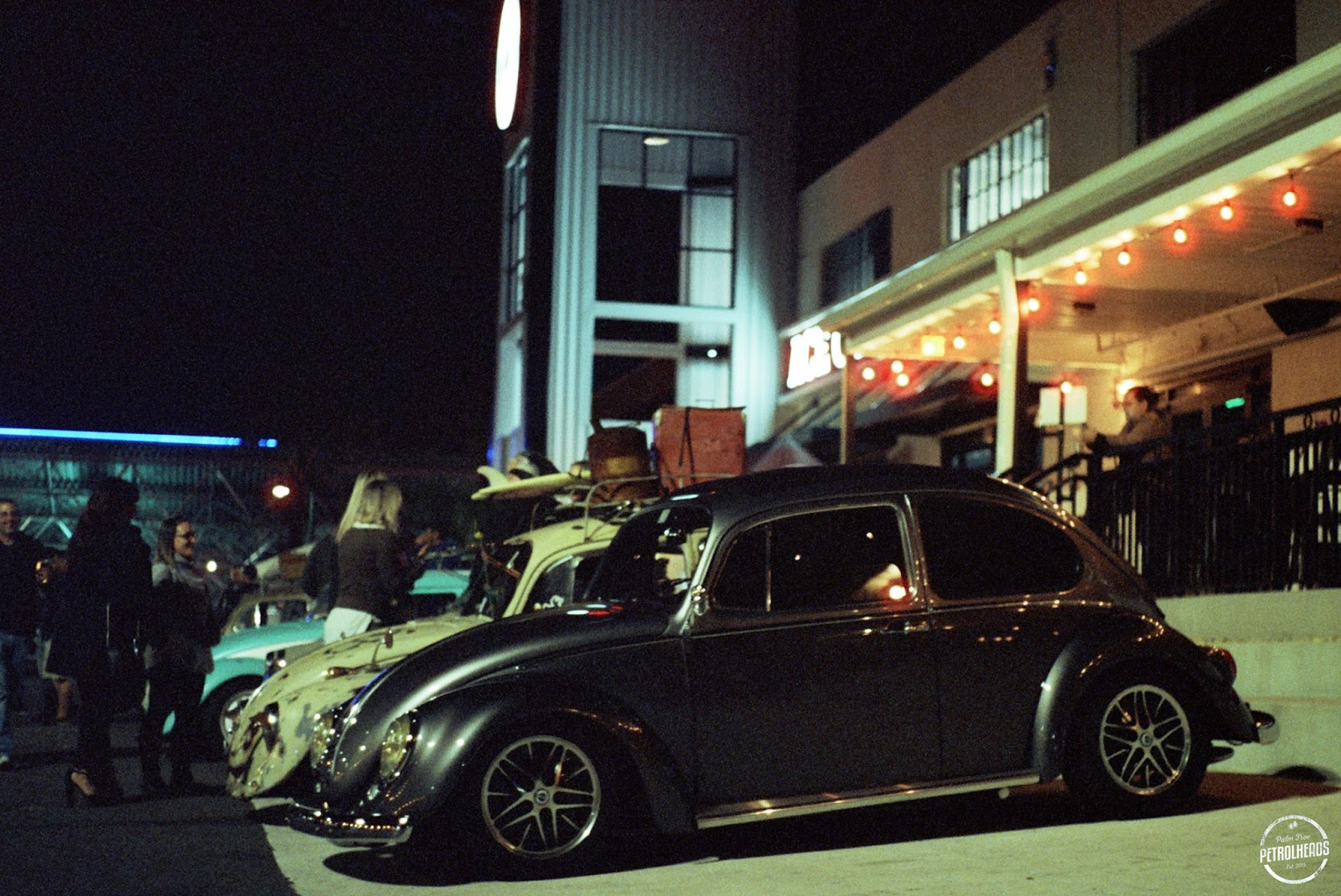 Palm Tree Petrolheads: ACE CAFE VW MEET ON 35MM CINESTILL 800